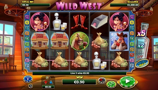 Western Slots Themes Online
